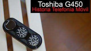 Toshiba G450, anunciado en 2008 | Historia Telefonía Móvil