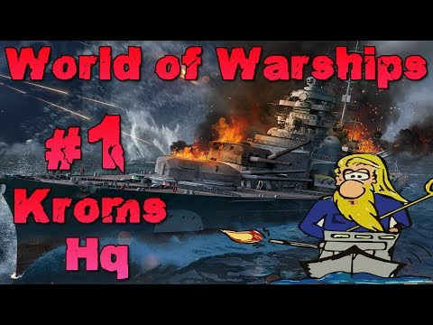 Kroms Hauptquartier #1 Krom zeigt euch die Gallant - World of Warships - Gameplay - Deutsch/German