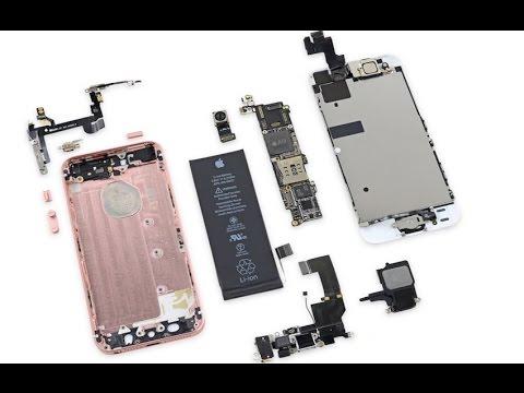 Сравним IPhone SE и IPhone 5S внутри ?