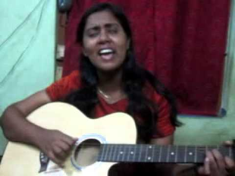 Kandalo aalariyukilla Christian devotional song cover by Rinu