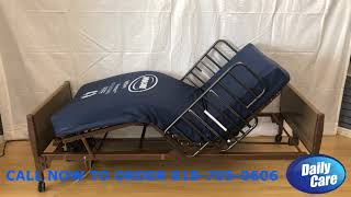 Invacare Full Electric Hospital Bed Package Daily Care 818-705-0606