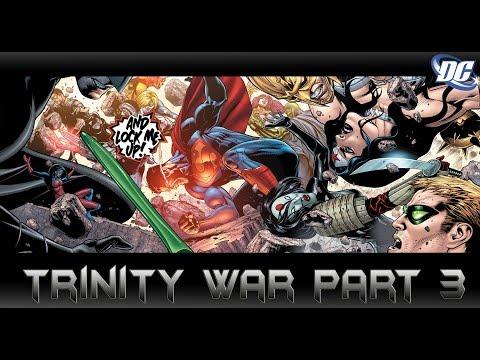 ฮี่โร่ปะทะฮีโร่[Trinity War Part 3]comic world daily
