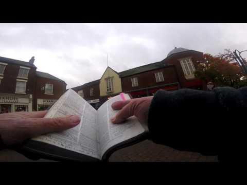 The Street Preacher in Newcastle U Lymne