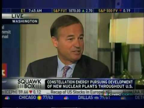 CNBC Interviews Council Member Mayo Shattuck, CEO of Constellation Energy