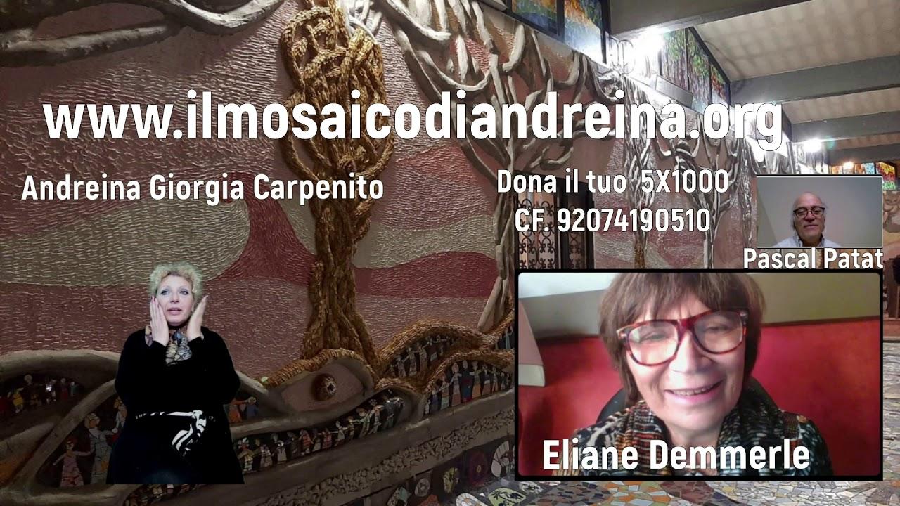 Storie del mosaico: Eliane una volontaria francese innamorata del mosaico