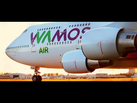 STUNNING CLOSE-UP | Wamos Air Boeing 747-400 at Helsinki Airport | EC-KSM for Pullmantur Cruises