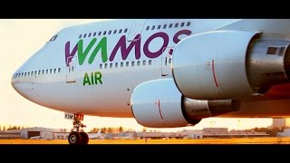 Video STUNNING CLOSE-UP | Wamos Air Boeing 747-400 at Helsinki Airport | EC-KSM for Pullmantur Cruises download MP3, 3GP, MP4, WEBM, AVI, FLV Agustus 2018