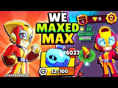 WE GOT MAX! GEMMING MAXED MAX AT 0 TROPHIES!