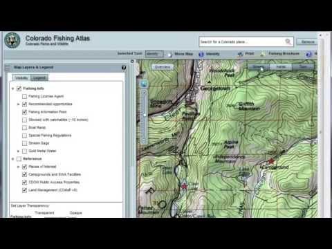 Colorado Fishing Atlas