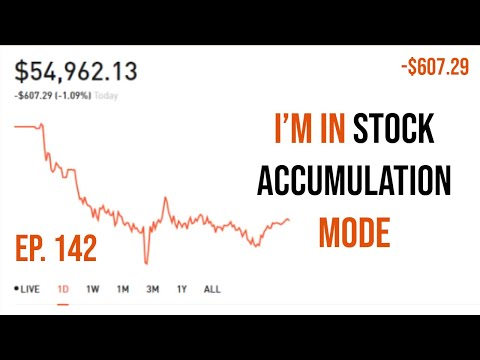Ep.142 $30k To $1,000,000 On Robinhood - I'm In Stock Accumulation Mode!