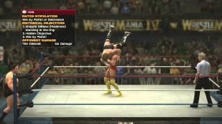 WWE 2K14- 30 years of Wrestlemania Part 5-Millions of dollars!