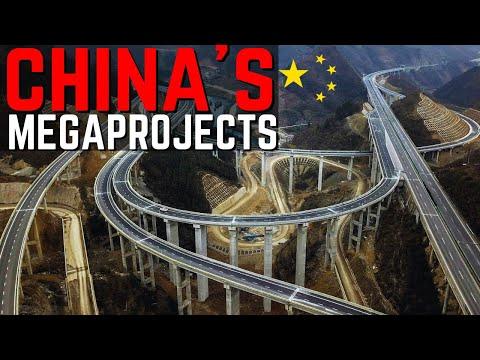 China's Mega Projects Construction Infrastructure   The Future 2021   中国超大型项目   添加了中文字幕