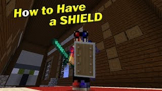How to Have a SHIELD | Minecraft PE thumbnail