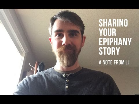 Sharing your Epiphany story
