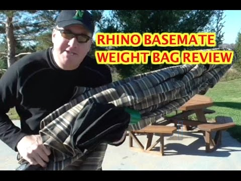 rhino-basemate-umbrella-base-weight-bag---review