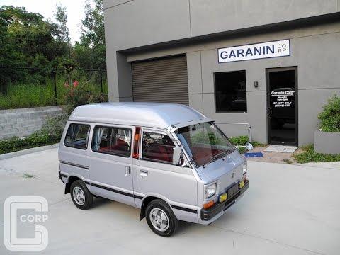 1984 Subaru Sambar Try FX5 RWD Kei Mini Van - YouTube