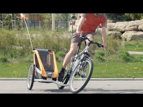 Sidecarrier Bicycle Trailer Chariot Carriers Youtube