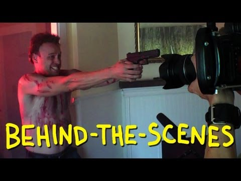 Die Hard - Death of Hans Gruber - Homemade (Behind The Scenes)