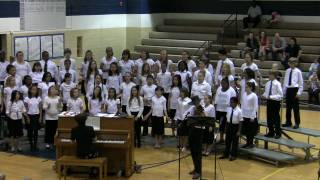 Copley Middle School Fifth Grade Choir performs Cripple Creek