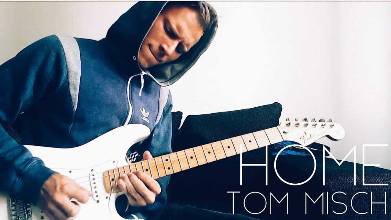 Tom Misch - Home   Guitar solo cover