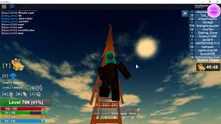 ISLAND 2 ROBLOX Gameplay! Use 400 ladders to climb to the Sky