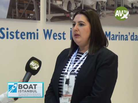 ESRA DALDAL WEST İSTANBUL MARİNA  AV TV