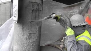 Phoscrete SG Dry Shotcrete Fast Gunite Concrete Repair