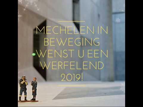 Mechelen in Beweging wenst u een werfelend 2019!