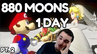 I collected ALL 880 Moons in Super Mario Odyssey in a single day... [2/2]