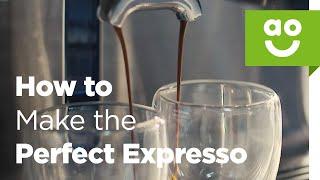 كيفية جعل الكمال اسبريسو | ao.com