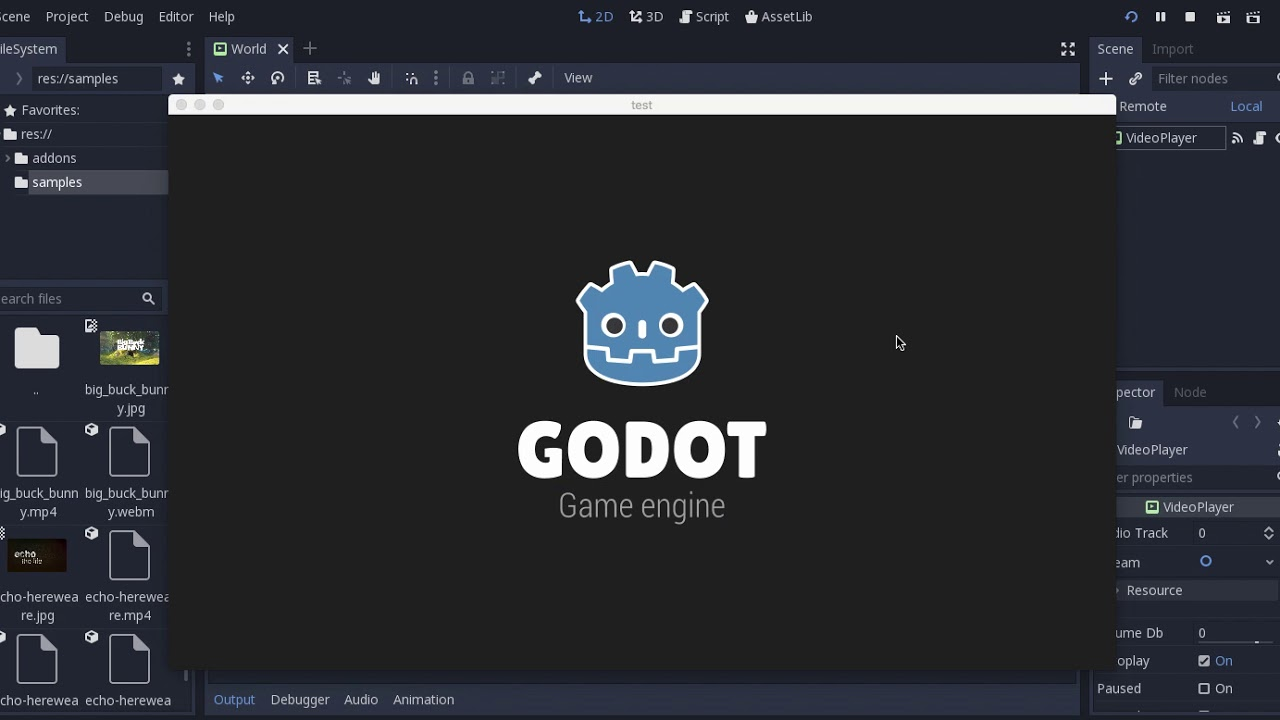 Godot Engine - GSoC 2018 progress report #1