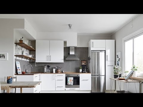 Холодильник в Интерьере Кухни - 2018 / Refrigerator In The Interior Kitchens / Kühlschrank Im Küchen