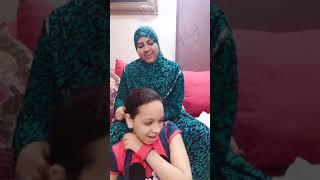 الأم المصريه لما تسرح شعر بنتها(الجزء التانى من طفولتنا المشرده)