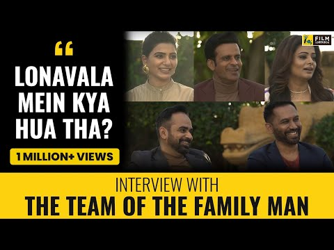 Manoj Bajpayee, Priyamani, Samantha Akkineni, Raj & DK Interview | The Family Man S2
