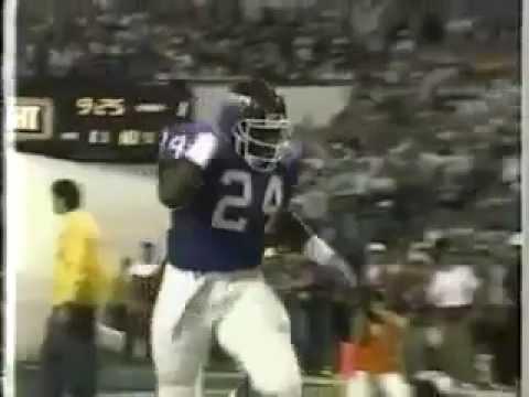 "Ottis ""O.J."" Anderson Super Bowl XXV Disney World Ad (1991)"