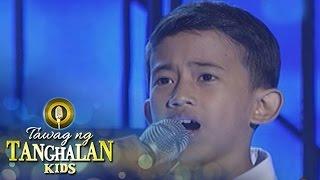 Tawag ng Tanghalan Kids: Jhon Clyd Talili | Hesus