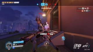 Overwatch with RPS: Genji POTG and MrDay being himself in the background