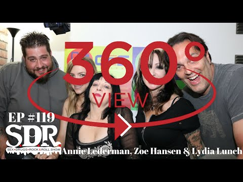 Annie Lederman, Zoe Hanse, Lydia Lunch - Pedestrian Bitches SDR Highlight from ep 119