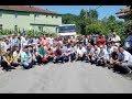 Zonguldak'ta köylüler yol kapatarak eylem yaptı