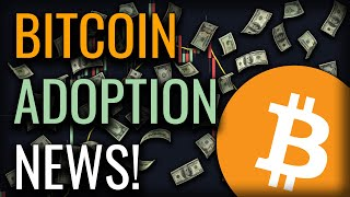 MILESTONE FOR BITCOIN ADOPTION REACHED! - WHAT'S NEXT ON BITCOIN?