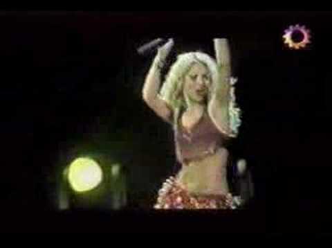 Shakira - Suerte - Tour De La Mangosta (Buenos Aires)