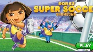 Dora Soccer Game-Super Kids Game-Baby-New Funny Video Game