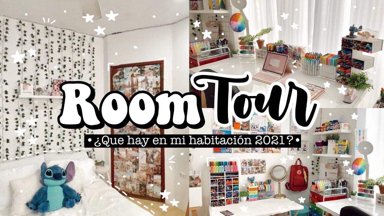 ✨Room Tour✨ + ¿Qué hay en mi habitación? 🌷✨📝🛏//2021