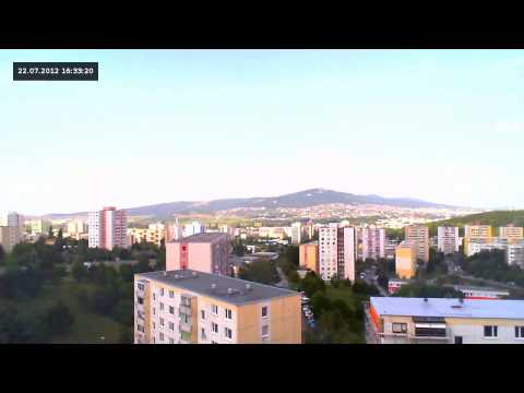 Time Lapse - Nitra, Slovakia HD Travel Video
