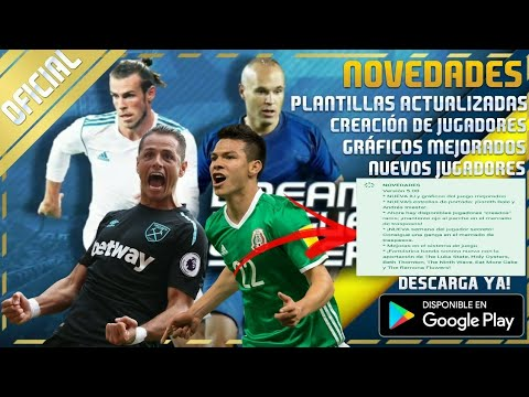 Dream league soccer 2018 oficial en android todas las for Todas las descargas