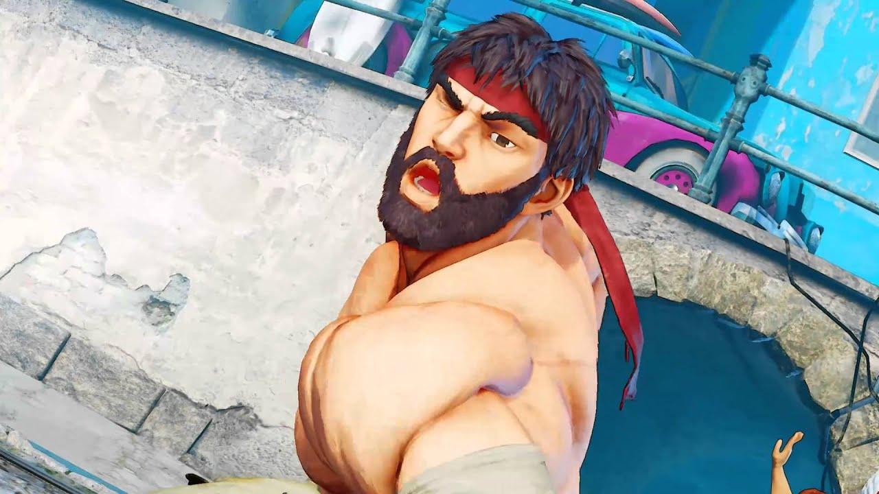 Sexy street fighter ass
