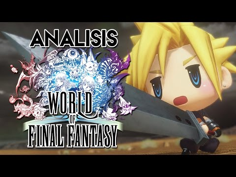 Vídeo-Análisis/Review | WORLD OF FINAL FANTASY. La celebración definitiva de la franquicia