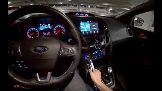 Modified Ford Performance Focus RS - POV Night Review (Binaural Audio)