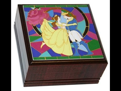 Beauty and the Beast Merchandise Keepsake Jewellery Box YouTube