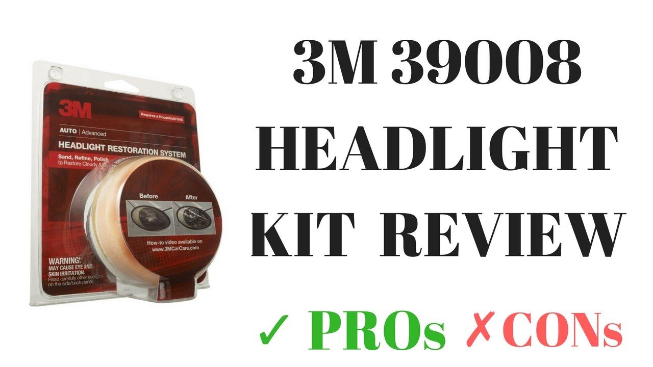 3M 39008 car headlight lens repair system